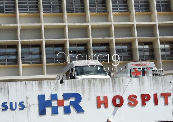 Recife (PE), 07/04/2021 - Imagens desta quarta-feira (07) dia Internacional da Saúde em plana crise sanitária.  Hospital Estadual da Restauração referencia no Estado de Pernambuco.