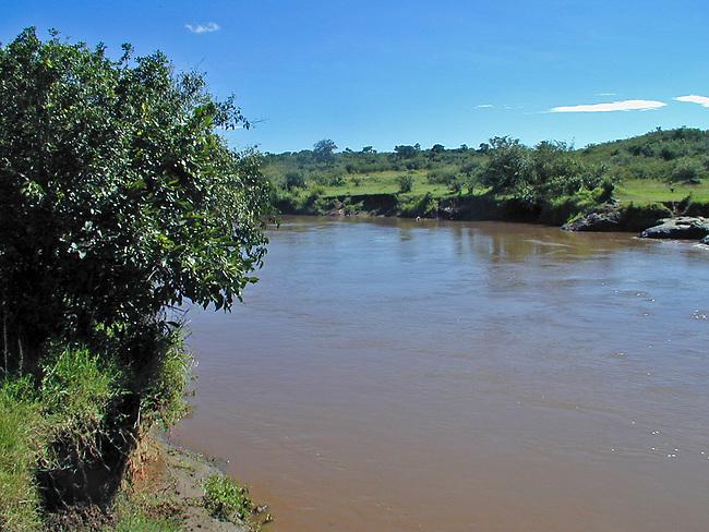 Mara River after the Long Rains