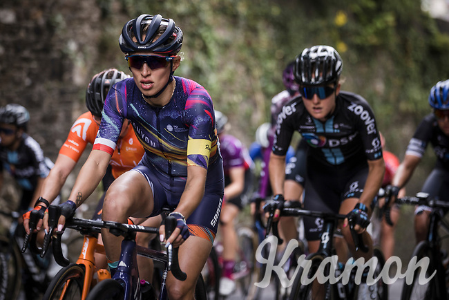 Katarzyna Niewiadoma (POL/Canyon SRAM)<br /> <br /> La Course by Le Tour 2021<br /> Brest > Landerneau 107.7km<br /> <br /> ©RhodePhoto
