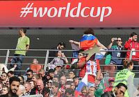 Fans freuen sich auf die Weltmeisterschaft - 14.06.2018: Russland vs. Saudi Arabien, Eröffnungsspiel der WM2018, Luzhniki Stadium Moskau