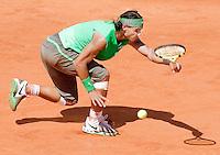 28-5-08, France,Paris, Tennis, Roland Garros,  Rafael Nadal