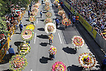 59th annual Silleteros parade in Medellin Colombia