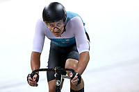 Jordon Kerby competes in the Elite Men Omnium points race 30km during the 2020 Vantage Elite and U19 Track Cycling National Championships at the Avantidrome in Cambridge, New Zealand on Friday, 24 January 2020. ( Mandatory Photo Credit: Dianne Manson )