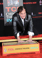 Quentin Tarantino Hand/Foot Prints In Cement