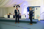 St Johnstone Player of the Year Awards Season 2018/2019, Dewars Centre, Perth 18.05.19<br />Manager Tommy Wright takes part in a Q&A session<br />Picture by Graeme Hart.<br />Copyright Perthshire Picture Agency<br />Tel: 01738 623350  Mobile: 07990 594431
