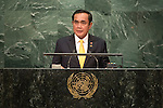 Thailand<br /> H.E. Mr. General Prayut Chan-o-cha<br /> Prime Minister<br /> <br /> General Assembly Seventy-first session 10th plenary meeting<br /> General Debate