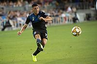 SAN JOSE,  - SEPTEMBER 1: Cristian Espinoza #10 of the San Jose Earthquakes during a game between Orlando City SC and San Jose Earthquakes at Avaya Stadium on September 1, 2019 in San Jose, .