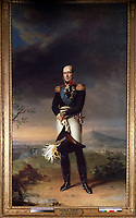 Portrait of Field marshal Count Mikhail Barklay-de-Tolli (1761-1818)<br />
