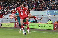 Tom Dallison-Lisbon of Crawley Town  during Crawley Town vs Sutton United, Sky Bet EFL League 2 Football at The People's Pension Stadium on 16th October 2021