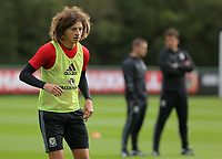 Pictured: Ethan Ampadu. Monday 02 October 2017<br />Re: Wales football training, ahead of their FIFA Word Cup 2018 qualifier against Georgia, Vale Resort, near Cardiff, Wales, UK.