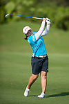 TAOYUAN, TAIWAN - OCTOBER 26:  Inbee Park of South Korea plays her second shot the 9th hole during the day two of the Sunrise LPGA Taiwan Championship at the Sunrise Golf Course on October 26, 2012 in Taoyuan, Taiwan. Photo by Victor Fraile / The Power of Sport Images