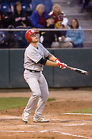 September 1, 2009: Vancouver Canadians catcher Max Stassi during a Northwest League game against the Everett AquaSox at Everett Memorial Stadium in Everett, Washington.