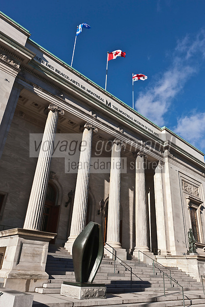 Amérique/Amérique du Nord/Canada/Québec/Montréal: rue Sherbrooke ouest - Musée des Beaux Arts de Montréal - Pavillon Michal et Renata Hornstein, rue Sherbrooke