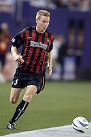 The MetroStars' Chris Leitch. The Columbus Crew and the MetroStars played to a 1-1 tie in regular season MLS action on Saturday October 9, 2004 at Giant's Stadium, East Rutherford, NJ..