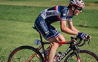 Victor Lafay (FRA/Cofidis)<br /> <br /> MEN UNDER 23 ROAD RACE<br /> Kufstein to Innsbruck: 180 km<br /> <br /> UCI 2018 Road World Championships<br /> Innsbruck - Tirol / Austria