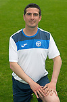 St Johnstone FC Photocall, 2015-16 Season....03.08.15<br /> Ewan Peacock, Chief Scout<br /> Picture by Graeme Hart.<br /> Copyright Perthshire Picture Agency<br /> Tel: 01738 623350  Mobile: 07990 594431