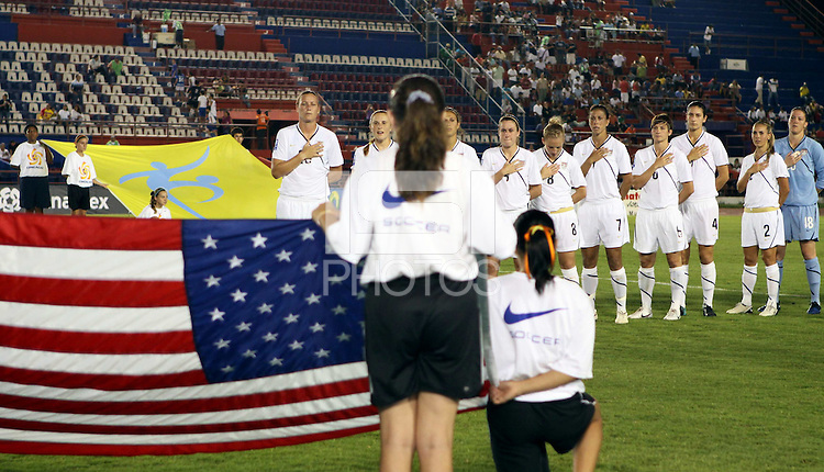 USWNT. The US Women's National Team defeated Haiti 5-0 during the CONCACAF Women's World Cup Qualifying tournament at Estadio Quintana Roo in Cancun, Mexico on October 28th, 2010.