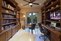 Stock photo of home office / library