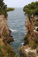 - la costa a Sveta Stijena....- the coast at Sveta Stijena