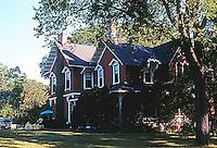 Riverside:  Victorian Gothic House, c. 1876. Photo '76.