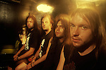 Various portrait sessions of the rock band, Kreator