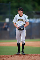 Pittsburgh Pirates pitcher Brandon Waddell (34) gets ready to deliver a pitch during an Instructional League game against the New York Yankees on September 29, 2017 at the Yankees Minor League Complex in Tampa, Florida.  (Mike Janes/Four Seam Images)