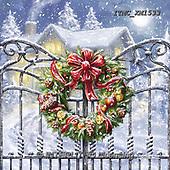 Marcello, CHRISTMAS SYMBOLS, WEIHNACHTEN SYMBOLE, NAVIDAD SÍMBOLOS, paintings+++++,ITMCXM1533,#XX# ,Christmas wreath