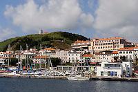 Horta auf der Insel Faial, Azoren, Portugal