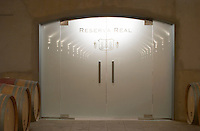 The special wine cellar for Reserva Real. Oak barrel aging and fermentation cellar. Torres Penedes Catalonia Spain