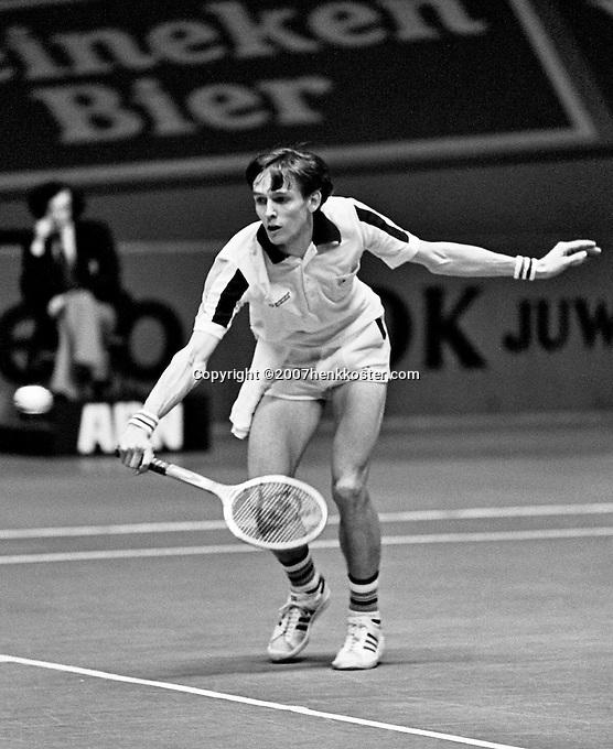 1979, ABN Tennis Toernooi, Louk Sanders(NED)