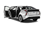 Car images close up view of 2016 Toyota Prius Three Touring 5 Door Hatchback doors