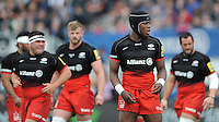 Maro Itoje of Saracens during the Aviva Premiership semi final match between Saracens and Leicester Tigers at Allianz Park on Saturday 21st May 2016 (Photo: Rob Munro/Stewart Communications)