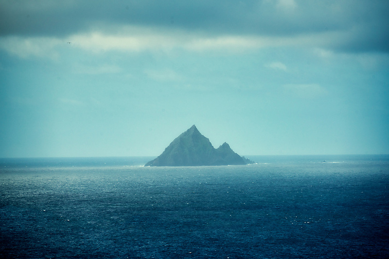 Tiaracht island in the Blasket Islands. County Kerry, Ireland