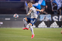 SAN JOSE, CA - MAY 01: Erik Sorga #50 of DC United controls the ball during a game between San Jose Earthquakes and D.C. United at PayPal Park on May 01, 2021 in San Jose, California.
