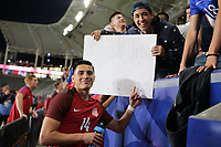 Carson, CA - Sunday January 28, 2018: Rubio Rubin during an international friendly between the men's national teams of the United States (USA) and Bosnia and Herzegovina (BIH) at the StubHub Center.