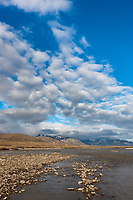 Landscape along the Nigu River, Brooks Range, Arctic, National Petroleum Reserve, Alaska.