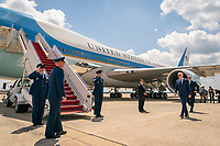 President Joe Biden boards Air Force One at Joint Base Andrews, Maryland en route to Cleveland Hopkins International Airport, Thursday, May 27, 2021.  (Official White House Photo by Adam Schultz)