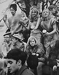 Birmingham student carnival float.  1966.