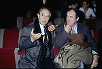 VITTORIO STORARO CON BERNARDO BERTOLUCCI<br /> SERATA AL TEATRO SISTINA ROMA 1993