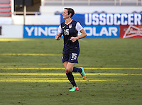Boca Raton, Florida - February 8, 2014: The U. S. Women's National team defeated the National team of Russia 7-0 during an International friendly at FAU Stadium.