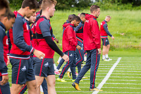 Wednesday 26 July 2017<br /> Pictured: Gylfi Sigurdsson of Swansea City looks on during training <br /> Re: Swansea City FC Training session takes place at the Fairwood Training Ground, Swansea, Wales, UK