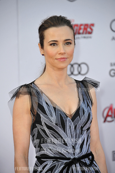 """Linda Cardellini at the world premiere of """"Avengers: Age of Ultron"""" at the Dolby Theatre, Hollywood.<br /> April 13, 2015  Los Angeles, CA<br /> Picture: Paul Smith / Featureflash"""