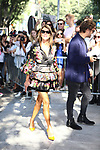 Guests arrival at the Giorgio Armani during the Milan's Fashion Week Women's wear Spring Summer 2019, in Milan, Italy, on September 23, 2018.  Pictured: Anna Dello Russo <br /> © Pierre Teyssot / Maxppp