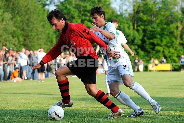 voetbal vv eenrum - fc groningen vriendschappelijk seizoen 2007-2008 15-05-2008 mark jan fledderus..fotograaf Jan Kanning