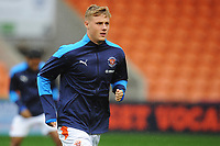 Blackpool's Daniel Ballard during the pre-match warm-up <br /> <br /> Photographer Kevin Barnes/CameraSport<br /> <br /> The EFL Sky Bet League One - Blackpool v Milton Keynes Dons - Saturday 24 October 2020 - Bloomfield Road - Blackpool<br /> <br /> World Copyright © 2020 CameraSport. All rights reserved. 43 Linden Ave. Countesthorpe. Leicester. England. LE8 5PG - Tel: +44 (0) 116 277 4147 - admin@camerasport.com - www.camerasport.com
