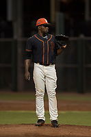 AZL Giants Black relief pitcher Aneudy Acosta (29) during an Arizona League game against the AZL Athletics at the San Francisco Giants Training Complex on June 19, 2018 in Scottsdale, Arizona. AZL Athletics defeated AZL Giants Black 8-3. (Zachary Lucy/Four Seam Images)