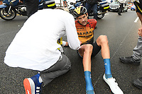 29th August 2020, Nice, France;  VALLS FERRI Rafael (ESP) of BAHRAIN - MCLAREN during stage 1 of the 107th edition of the 2020 Tour de France cycling race, a stage of 156 kms with start in Nice Moyen Pays and finish in Nice
