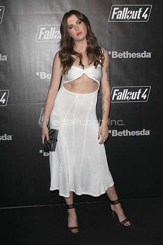 LOS ANGELES, CA - NOVEMBER 5: Ireland Baldwin at the Fallout 4 video game launch event in downtown Los Angeles on November 5, 2015 in Los Angeles, California. Credit: mpi21/MediaPunch