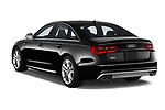 Car pictures of rear three quarter view of 2015 Audi S6 Base 4 Door Sedan angular rear