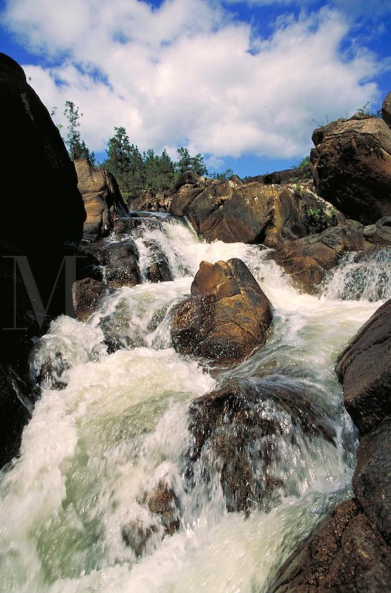Rio Frio Pools & Falls, Mountain Pine Ridge, Cayo District, Belize. Mountain Pine Ridge Cayo District Belize Central America.